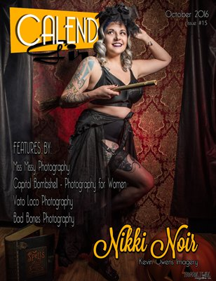 Calendar Calendar Girls - Issue Fifteen - October 2016 - Nikki Noir