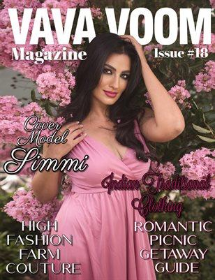 VAVA VOOM Magazine Simmi #issue 18