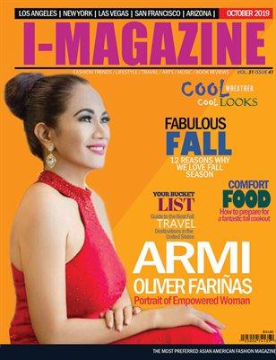 Armi Oliver Farinas I Magazine October 2019
