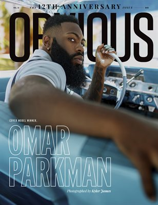 12TH ANNIVERSARY ISSUE - OMAR PARKMAN