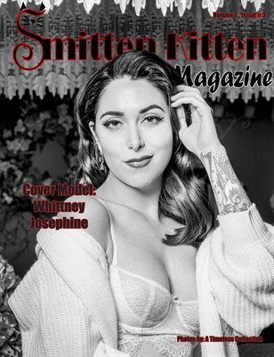 Smitten Kitten Pinup Magazine Cover 4 Whittney Josephine March 2020 Issue