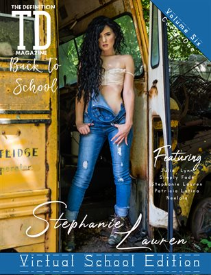 TDM: Stephanie Lauren Back2School Theme Page Vol.6 Cover1