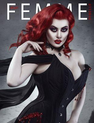 Femme Rebelle Magazine April 2021 REG ISSUE - Jamie Mahon Cover