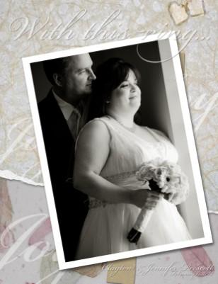 The Marriage Celebration of Jennifer and Clayton Prescott