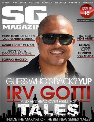 Scrilla Guerillaz Magazine #18 (Irv Gotti's TALES Edition)