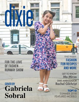 Dixie Magazine - Summer 2018 Issue (Cover Option 2)