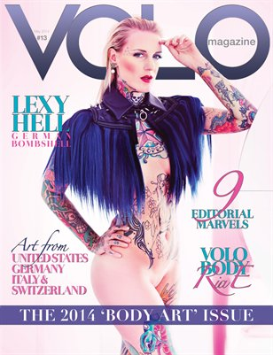 VOLO #13 - 2014 BODY ART ISSUE