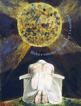 Blake/An Illustrated Quarterly vol. 55, no. 1 (summer 2021)