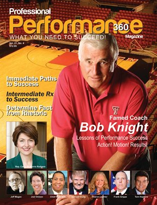 Coach Bob Knight Vol.21 No.4