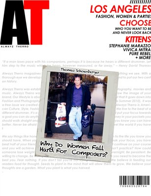 Alwayz Therro - Why Women Love Composers - August 2014