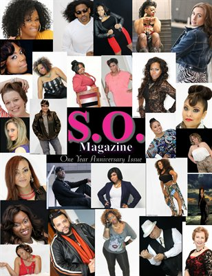 S.O. Magazine One Year Anniversary Issue 7