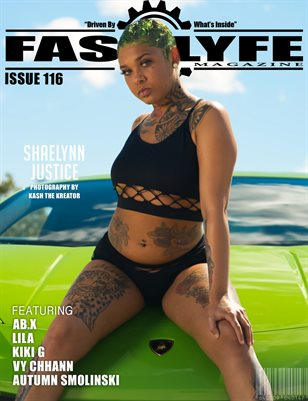 FASS LYFE ISSUE 116 FT. SHAELYNN JUSTICE