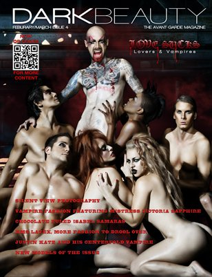 Dark Beauty Magazine - ISSUE 4 - Love Sucks
