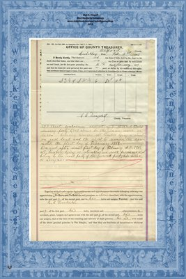 (PAGES 1-2) 1913 Wilford County, Michigan, Warranty Deed, R.P. Bredahl to Juluis Bredahl