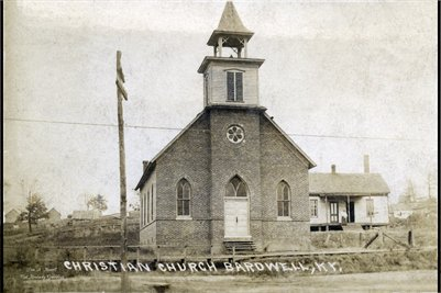 1908 Bardwell Christian Church, Bardwell, Carlisle County, Kentucky