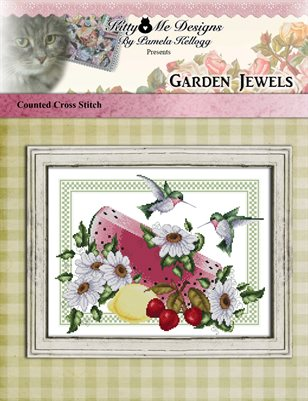 Garden Jewels Cross Stitch Pattern