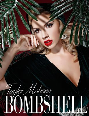 BOMBSHELL Magazine May 2018 - BOOK 2 Taylor Mahone Cover