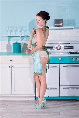 Kitty Courtney - 1950s Kitchen 1