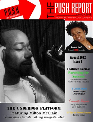 August 2012 - The PUSH Report Magazine