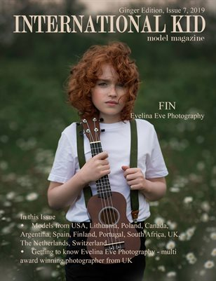 "International Kid Model Magazine ""Ginger"" edition"