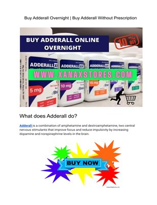 Buy Adderall Overnight