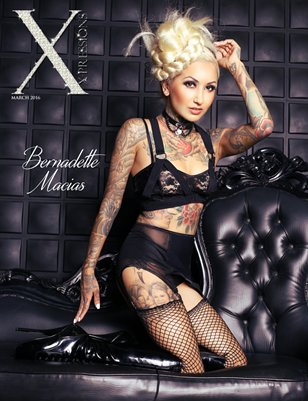 XPRESSIONS MARCH ISSUE - BERNADETTE