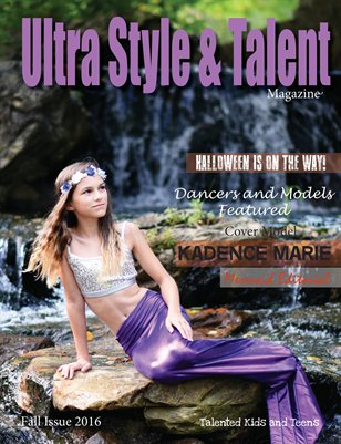 Ultra Style and Talent Magazine 2016 October