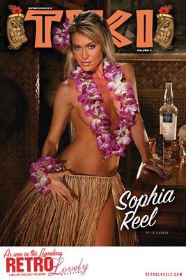 TIKI Volume 3 - Sophia Reel Cover Poster