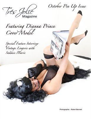 2015 October Pinup Lingerie Issue