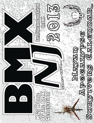 BMXNJ 2013 Mayan Apocalypse Survivors Calendar