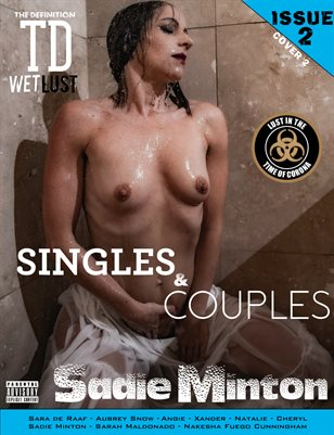 TDM Sadie Minton Wet Lust Singles and Couples issue2 cover 2
