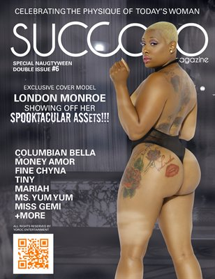 Succoso Magazine Double Issue #6 ft Cover Model London Monroe