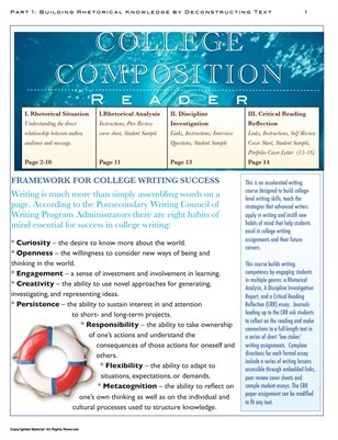 Distance Learning Kit: College Composition