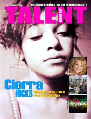 Talent Monthly Magazine December 2013 Issue #1301
