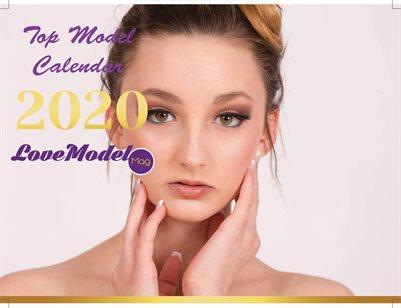 Top Model Calendar 2020 Edition 1