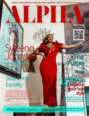 Alpha Female Edition | May 2019 Syleena Johnson