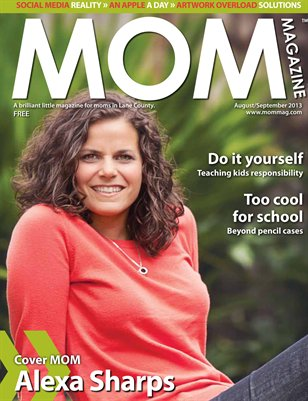 MOM Magazine, Aug/Sept 2013 Back to School in Lane County