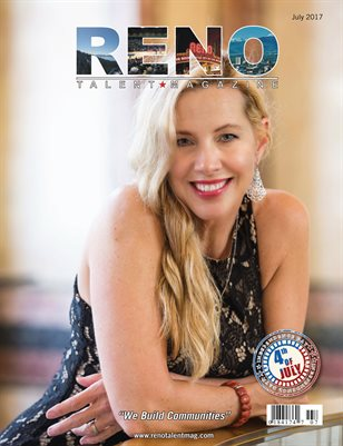 Reno Talent Magazine July 2017 Edition
