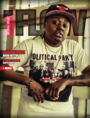 #ConnecticutFlow Magazine #1 Banga Roye Edition