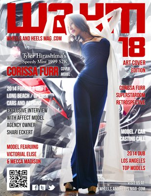 Wheels and Heels Magazine Issue 18 - Corissa Furr