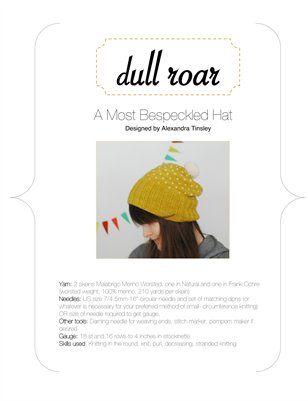 Bespeckled Hat