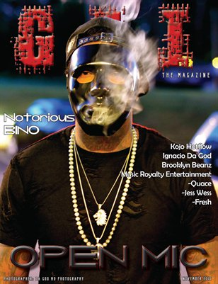 "November 2015 ""Open Mic"" Issue"