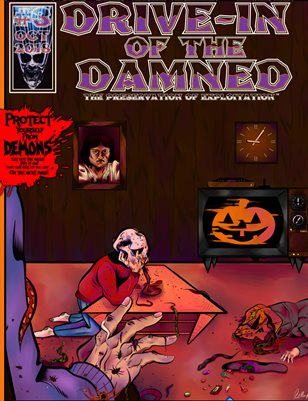 Drive-In of the Damned #3 October 2018