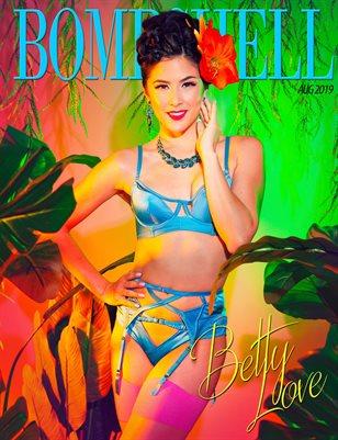 BOMBSHELL Magazine August 2019 BOOK 2 - Betty Love Cover