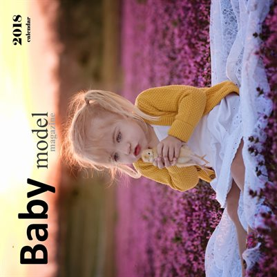 Baby Model Magazine 2018 Calendar