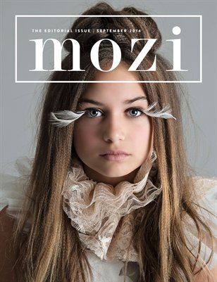 Mozi Magazine, September 2014, Commercial and Editorial