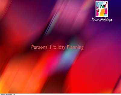PersonaHolidays Matching Travellers with Hotels