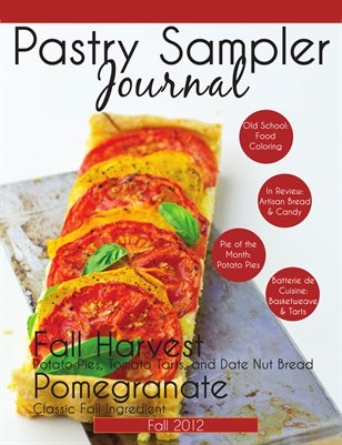 Pastry Sampler Journal Fall 2012