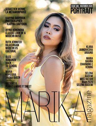 MARIKA MAGAZINE PORTRAIT (ISSUE 385 - NOVEMBER)