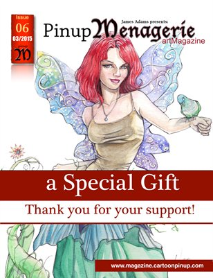 Pinup Menagerie art Magazine Issue 06